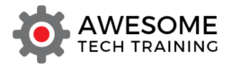 The awesome tech training logo